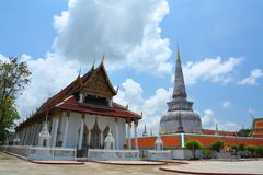 Great Pagoda of Nakorn Sri Thammarat Royalty Free Stock Photo