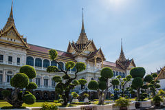 The Great Palace in Bangkok Royalty Free Stock Images