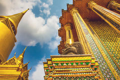 Great Palace Bangkok Thailand. In the Royal Palace of the Great Palace Bangkok Thailand Royalty Free Stock Photos