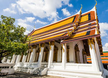 Great Palace Buddhist temple in Bangkok Royalty Free Stock Images