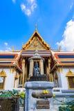 Great Palace Buddhist temple in Bangkok stock image