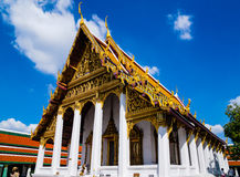 Great Palace Buddhist temple in Bangkok Royalty Free Stock Photography
