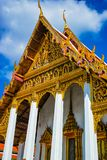 Great Palace Buddhist temple in Bangkok stock photography