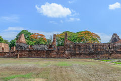 Great palace of king Narai, King of Ayutthaya kingdom Stock Photography