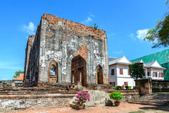 Great palace of king Narai, King of Ayutthaya kingdom Royalty Free Stock Photography