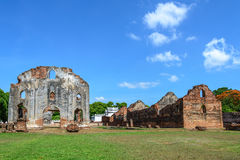 Great palace of king Narai, King of Ayutthaya kingdom Stock Photos