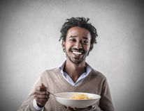 A great pasta Royalty Free Stock Photo