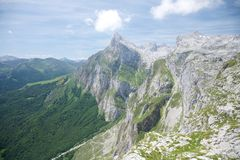 Great peak in Cantabria Royalty Free Stock Photography