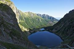 Great peaks in the Polish Tatra mountains Stock Photo
