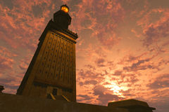 The Great Pharos Lighthouse Royalty Free Stock Images