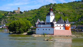 A great piece on the edge of the Rhine River Royalty Free Stock Images