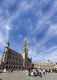 Great Place of Brussels Stock Image