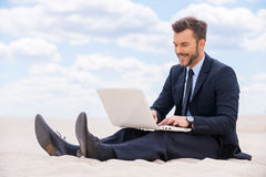 Great place to work. Royalty Free Stock Photos