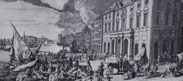 Great Plague of Marseille was the last of the significant European outbreaks of bubonic plague, 1721