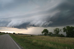 Great Plains supercell royaltyfri bild