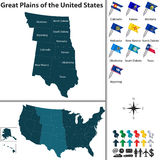 Great Plains of the United States Stock Photos