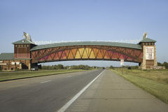 Great Platte River Road Archway Monument Stock Photos