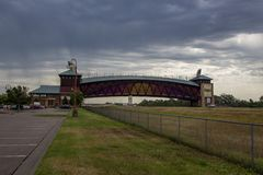 Great Platte River Road Archway Monument Stock Image