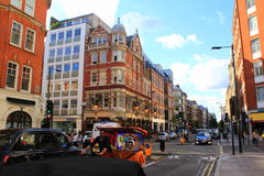 Great Portland street London Royalty Free Stock Photography