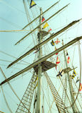 Great Portuguese sailing ship of CEAOB Stock Photography
