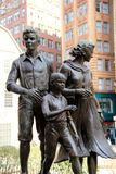 Great potato famine memorial,Boston,2014 Royalty Free Stock Images