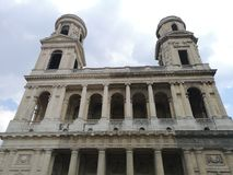 Saint Sulpice church, Paris, France Stock Image