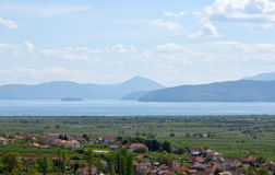 Great Prespa lake, Macedonia, Stock Images