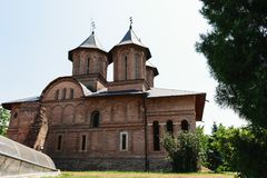 The Great Princely Church in Targoviste, Dambovita, Romania Royalty Free Stock Photo
