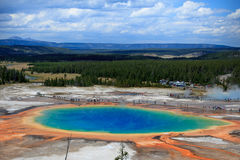 Great Prismatic Spring Royalty Free Stock Photos