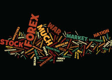 Great Profits Can Be Made From Forex And Stocks And Shares Text Background Word Cloud Concept Stock Images