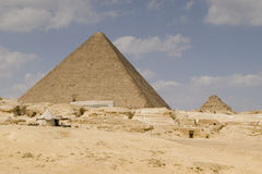 The Great Pyramid. Of Gizeh in Cairo Egypt royalty free stock photography