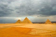 The great pyramid Royalty Free Stock Photo