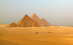 Great Pyramid. Of Giza. Egypt Royalty Free Stock Photography