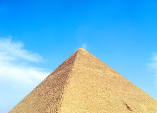 Great Pyramid. The Great Pyramid of Giza near Cairo, Egypt Stock Images