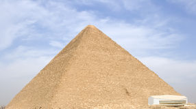 Great Pyramid. The Great Pyramid of Giza near Cairo, Egypt Stock Photography