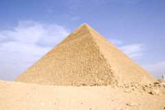 Great Pyramid. The Great Pyramid of Giza near Cairo, Egypt Royalty Free Stock Photos
