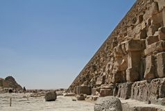 Great Pyramid Royalty Free Stock Photography
