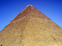 The Great Pyramid stock photo