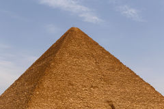 Great Pyramid of Cheops. In Giza Royalty Free Stock Photo