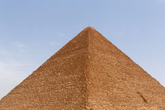 Great Pyramid of Cheops. In Giza Royalty Free Stock Photos