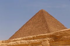 Great Pyramid of Cheops. In Giza Royalty Free Stock Images
