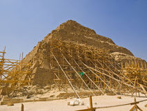 Great pyramid of Djoser royalty free stock photography