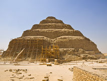 Great pyramid of Djoser Royalty Free Stock Images