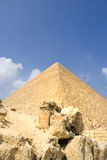 Great pyramid in Egypt Royalty Free Stock Image