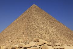 Great Pyramid - Egypt Royalty Free Stock Photos