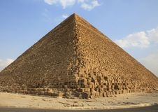 Great Pyramid - Egypt Royalty Free Stock Photo