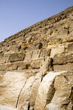 Great Pyramid in Egypt Royalty Free Stock Images