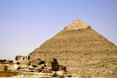 Great Pyramid of Egypt Royalty Free Stock Image