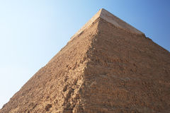Great Pyramid in Giza. The great ancient Pyramid of Chephren in Giza, near Cairo (Egypt Royalty Free Stock Image