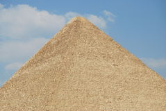 Great pyramid of Giza Stock Photography